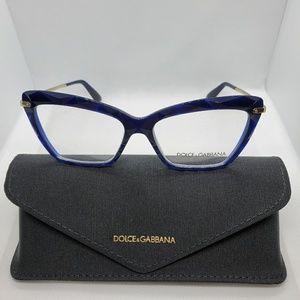 NIB Dolce&Gabbana Eyeglasses cat-eye in Navy